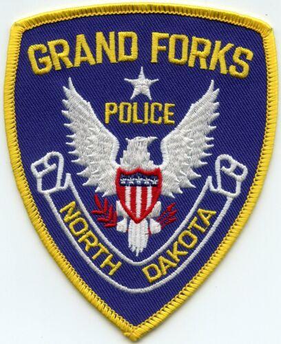old style GRAND FORKS NORTH DAKOTA ND POLICE PATCH