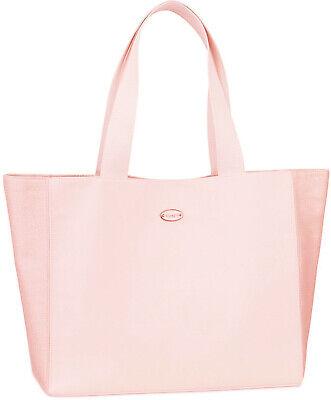 COACH Fragrance baby pink shimmer tote bag shoulder travel purse shopper NEW
