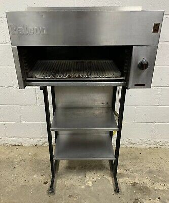 FALCON DOMINATOR SALAMANDER GRILL NATURAL GAS WITH STAND 905 MM WIDE £300 + VAT