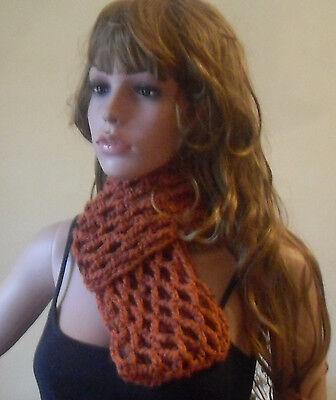 Free Chain Stitch Scarf Crochet Pattern