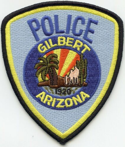 GILBERT ARIZONA AZ POLICE PATCH