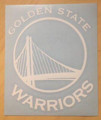 """Golden State Warriors Vinyl Car Truck DECAL Window STICKER NBA Basketball 6"""""""
