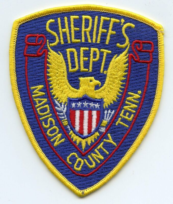MADISON COUNTY TENNESSEE TN SHERIFF POLICE PATCH