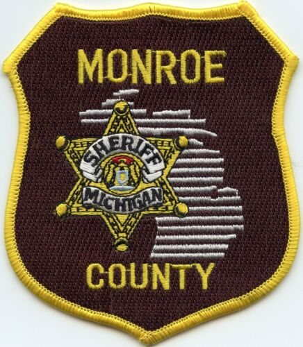 MONROE COUNTY MICHIGAN MI SHERIFF POLICE PATCH