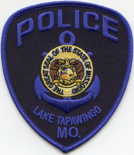 LAKE TAPAWINGO MISSOURI MO Boat Anchor POLICE PATCH