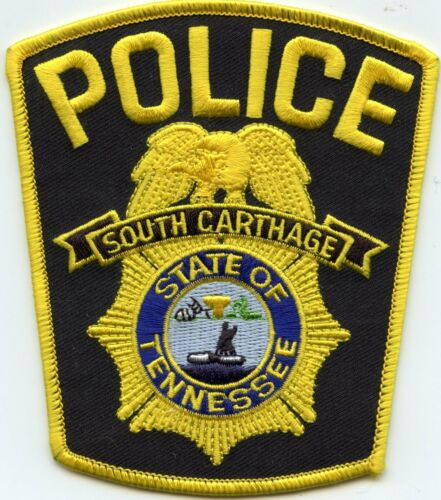 SOUTH CARTHAGE TENNESSEE TN POLICE PATCH