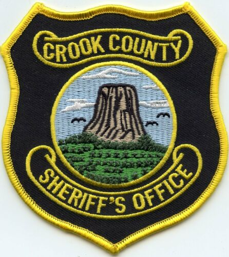 CROOK COUNTY WYOMING WY SHERIFF POLICE PATCH