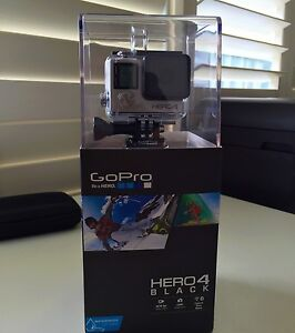 GoPro Hero4 BLACK [BRAND NEW - NEVER OPENED] Tennyson Brisbane South West Preview