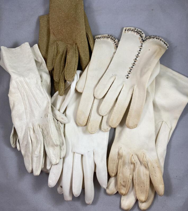 Vintage Mid-Century Ladies Dress Gloves