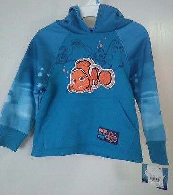 Disney Pixar Sweater pullover with hood Finding Dory Girls 2T NWT