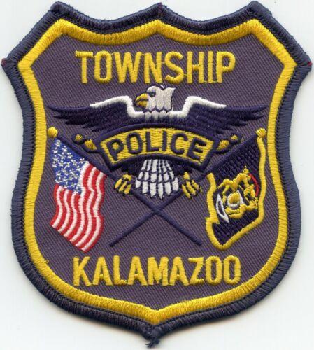 KALAMAZOO TOWNSHIP MICHIGAN MI POLICE PATCH