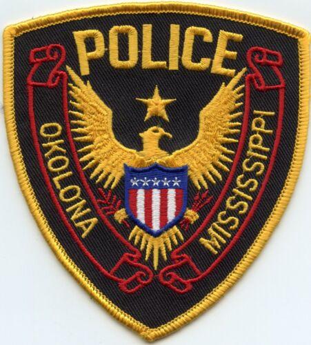OKOLONA MISSISSIPPI MS POLICE PATCH