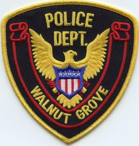 WALNUT GROVE MISSISSIPPI MS POLICE PATCH