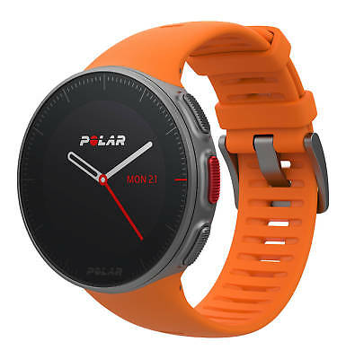 M430 Smartwatch Fitness Armband TPE orange-rot für Polar M400