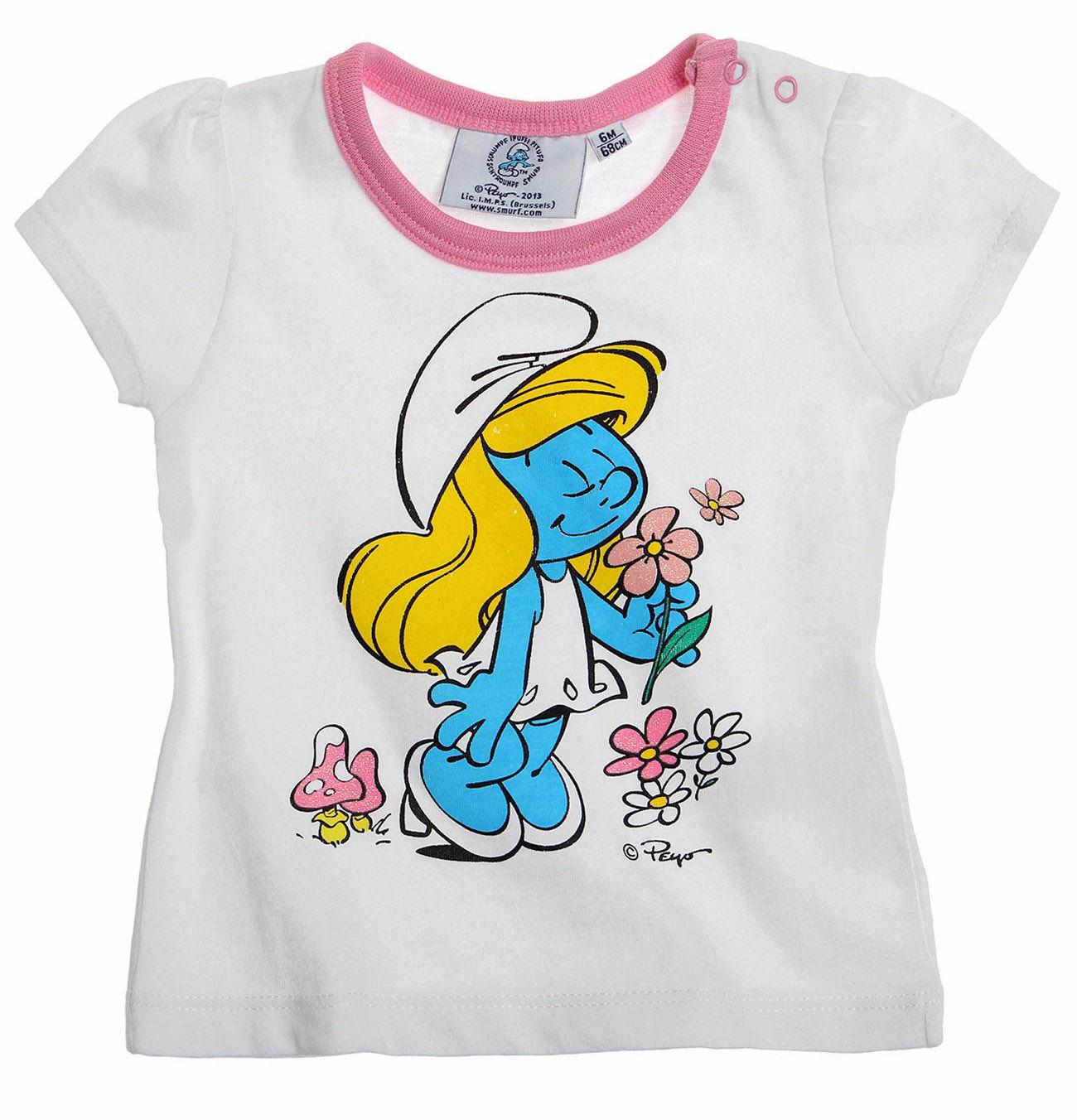 T-shirt LES SCHTROUMPFS