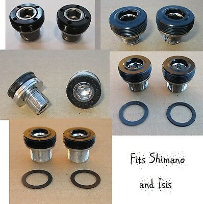 Isis Arm Set (Bicycle Bottom Bracket Bolts Crank Arm Mounting Bolts Set of 2 New Shimano/)