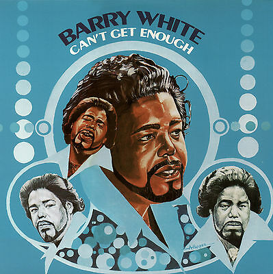 Barry White Cant Get Enough 20Th Century Records New Sealed Vinyl Lp