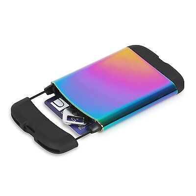 Umbra Bungee Rainbow Business Card Casewallet 1008217-1063 New Color