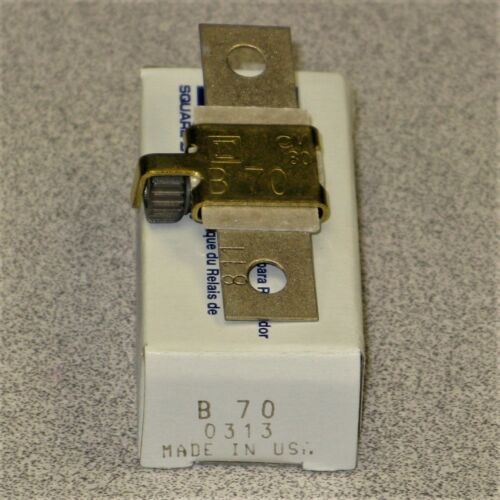 Square D B70 Heater / Thermal Element