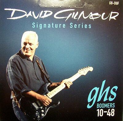 GHS GB-DGF Cuerdas de Guitarra Eléctrica David Gilmour Firma 010-048