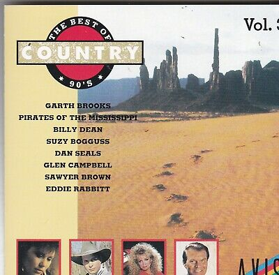 The Best Of 90'S Country Vol. 3 Garth Brooks  Sawyer Brown Dan Seals (Best Of Garth Brooks Cd)