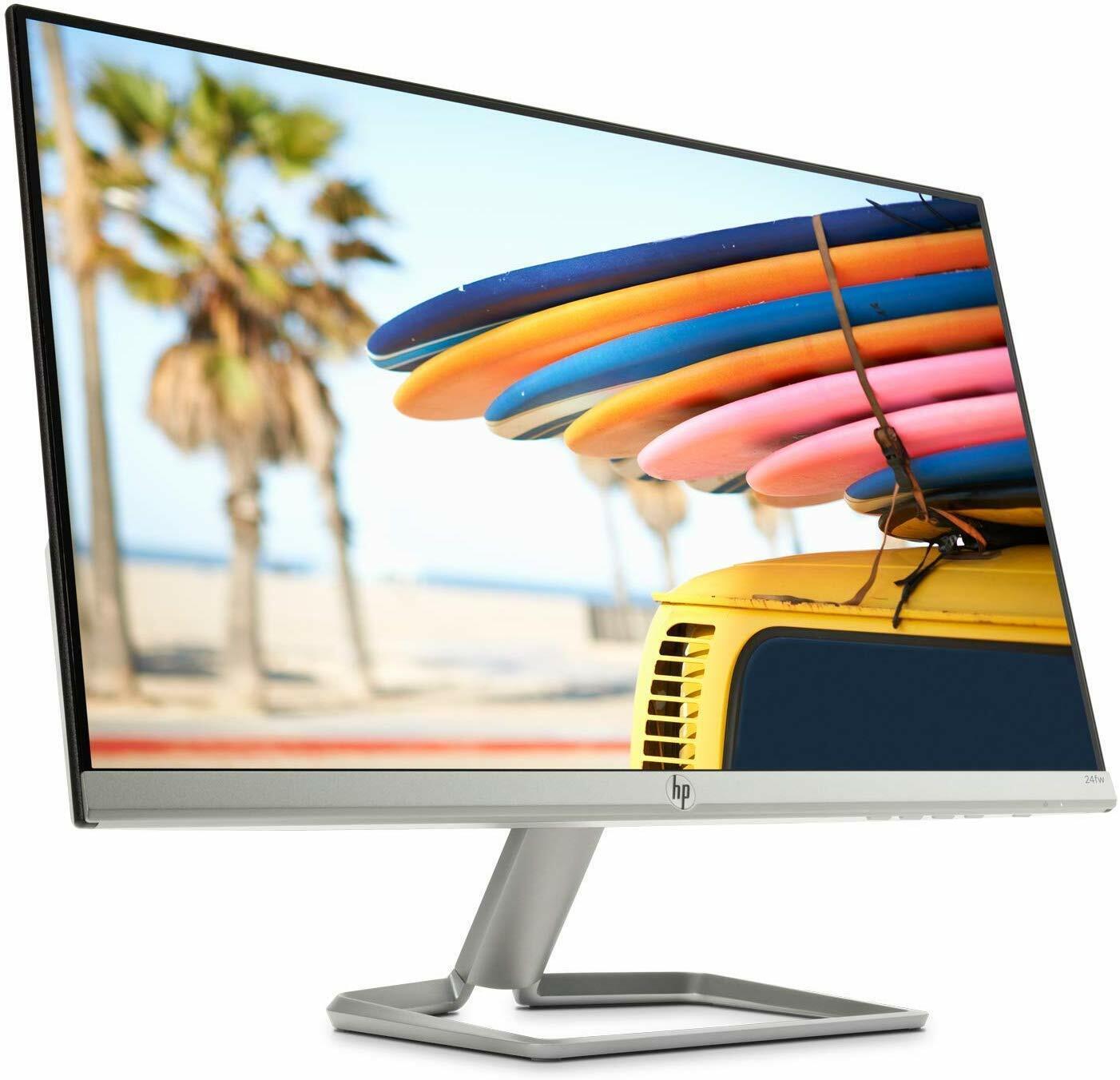 HP 24fw (23,8 Zoll FullHD - 1920x1080) HDMI VGA 5ms Reaktionszeit, 300cd/m²