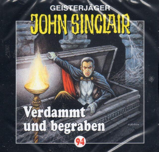JOHN SINCLAIR - Teil 94 Verdammt und begraben AUDIO CD - NEU OVP
