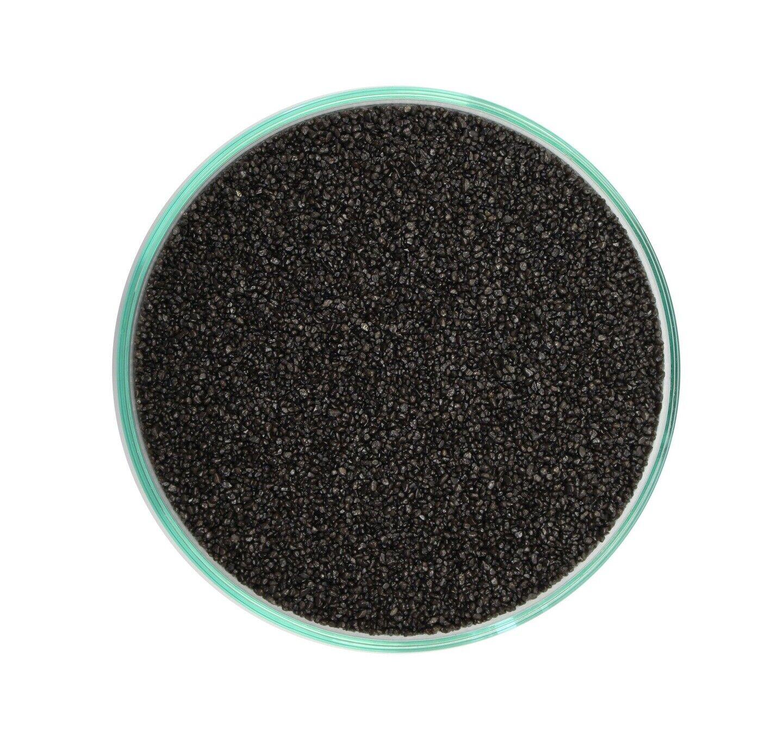 Retne Basalt natur Schwarz Aquarium  Sand Bodengrund  Körnung 0,6 -1,2mm