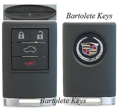OEM Fob Keyless Remote #1 for Cadillac CTS DTS STS (Regular Ignition Models)