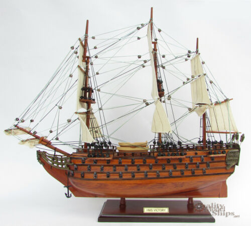 HMS Victory Ship Model Ready for Display 20""