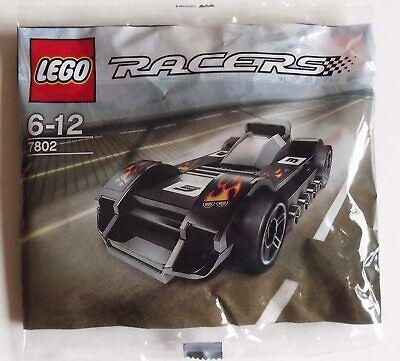 Genuine Lego Racers Le Mans Racer Polly Bag Brand New 7802