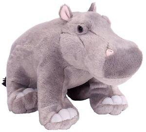 NEW WILD REPUBLIC CUDDLEKINS PLUSH HIPPO CUDDLY SOFT TOY HIPPOPOTAMUS TEDDY