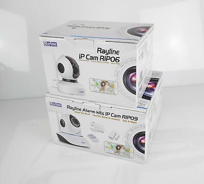 2x Überwachungskamera 720P HD + 480P SD IP Wlan Cam Restposten Defekt: ohne App ()