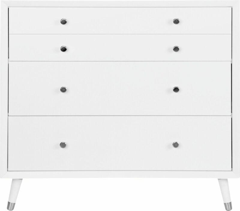 Karla Dubois - Wooster 3-Drawer Dresser - Pure White
