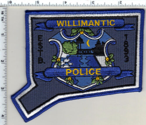 Williamtic Police (Connecticut) Shoulder Patch - new from 1992