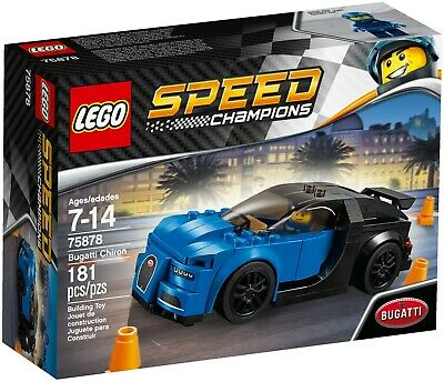LEGO Speed Champions 75878 Bugatti Chiron - Brand New Sealed, Retired, Very Rare