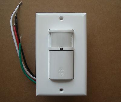 Vacancy 120v Wall Decora Motion Sensor Detector 110v Switch White