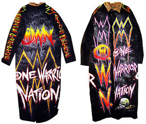 WWE ULTIMATE WARRIOR RING WORN DUSTER SIGNED WITH PROOF COA 2
