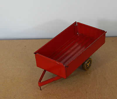 Vintage Mettoy Tinplate Farm Trailer Tractor Accesory  lft