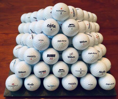 4 Dozen Golf Balls Wilson, Pinnacle, Top Flite, Precept etc 🍀🐾 Lucky Dog 🐾🍀