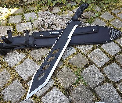 Elite Force EF712 Messer Tanto Machete Buschmesser Outdoor 440 Stahl + Scheide