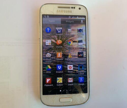 Smartphone samsung galaxy s4 mini gt-i9195 - 8 go - white frost