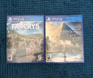PS4 GAMES **NEW SEALED** - $70