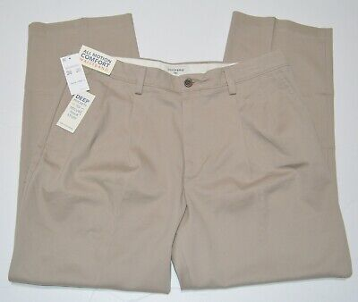 Dockers D3 Easy Khaki Classic Fit Pleated Front Men's Pant NEW -