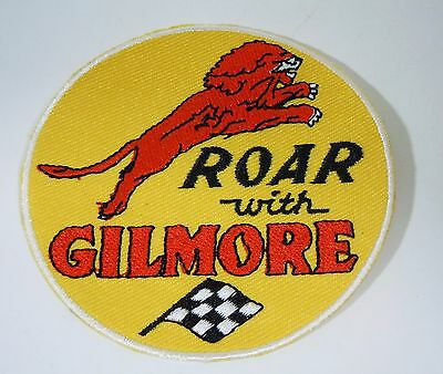 """Roar With GILMORE GASOLINE  Embroidered Iron On Uniform-Jacket Patch 3"""""""