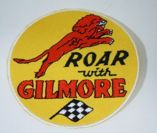 Roar With GILMORE GASOLINE  Embroidered Iron On Uniform-Jacket Patch 3""