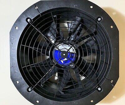 Ziehl-abegg Axial Fan Zn045-6il.bd.v7p2 200277v 5060hz1ph 450mm 17.58 Blade
