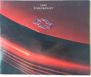 1995 Chev Dealer Brochure 67 pages