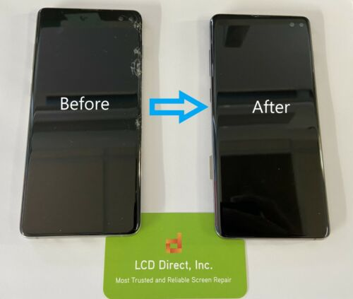 Samsung Galaxy S20 Ultra G988 Cracked Screen Glass Repair Mail In Service