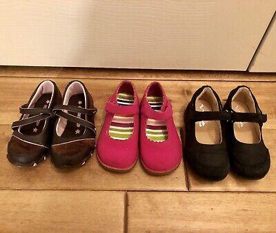 Toddler Girls Size 7 Shoe Lot Of Three Pairs Carter's Gymboree Nina Kids Shoes